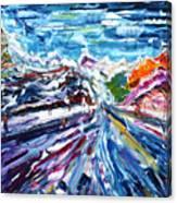Zermatt Or Cervinia Canvas Print