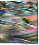 Zig Zag Serpentine Canvas Print