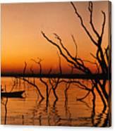 Zimbabwe Sunset Canvas Print