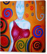 Zinunderworld Or Underwoldangel Canvas Print