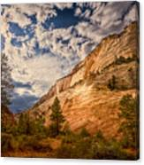 Zion Afternoon Canvas Print