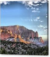 Zion At Sunset #3 Canvas Print