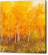 Zion Autumn Canvas Print