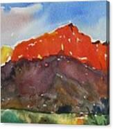 Zion Fields Canvas Print