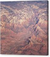 Zion From The Air Canvas Print