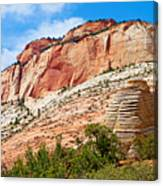 Zion Hike 1 View 2 Canvas Print