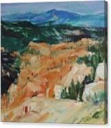 Zion Hike Canvas Print
