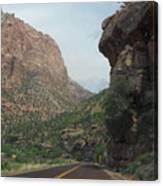 Zion National Park 4 Canvas Print