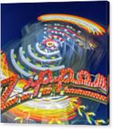 Zipper Canvas Print