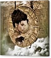 Zodiac Signs - Taurus Canvas Print