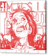 Zombie Music Canvas Print