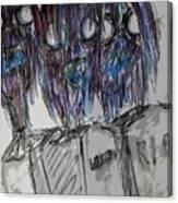 Zombie Trio Canvas Print