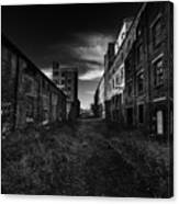 Zombieland The Fort William Starch Company Canvas Print