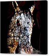 Zombified Horse Canvas Print
