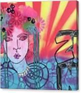 Zoni.girl.... Jazmine Canvas Print