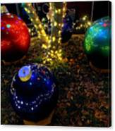 Zoo Lights Ornaments Canvas Print