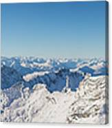 Zugspitze Observatory Panorama Canvas Print