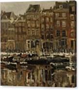 Zuidblaak Te Rotterdam Canvas Print