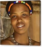 Zulu Beauty Canvas Print