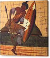 Zulu Warrior Canvas Print