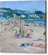 Zuma Beach Canvas Print