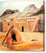 Zuni - Pueblo Canvas Print