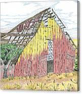 Zuniga Barn Canvas Print