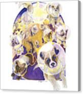 Zvezdy Sobaki Canvas Print