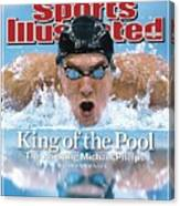 , 2008 Summer Olympics Sports Illustrated Cover Canvas Print