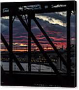 008 - Trestle Sunset Canvas Print