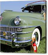 1947 Chrysler Town And Country Woody Canvas Print