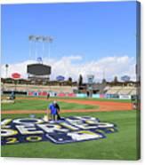 2017 World Series Previews - Los Canvas Print
