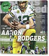 31 Teams, 1 Goal Stop Aaron Rodgers, 2017 Nfl Football Sports Illustrated Cover Canvas Print