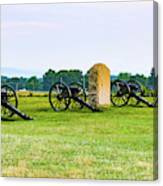 4th United States Artillery Canvas Print