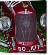 A 1933 Maserati 8c 3000 Biposto Canvas Print