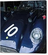 A 1950's Lister Jaguar Race Car Canvas Print