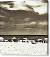 A Day On The Jersey Shore Canvas Print