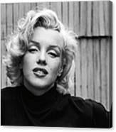 Actress Marilyn Monroe Canvas Print