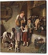 Adolf Eberle  Fresh Milk Canvas Print