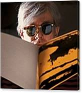 Andy Warhol In New York, United States Canvas Print