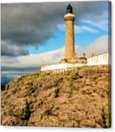 Ardnamurchan Point Lighthouse In Portrait Format. Canvas Print