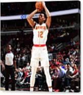 Atlanta Hawks V Chicago Bulls Canvas Print