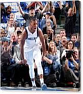 Atlanta Hawks V Dallas Mavericks Canvas Print