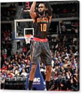 Atlanta Hawks V Detroit Pistons Canvas Print