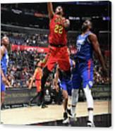 Atlanta Hawks V La Clippers Canvas Print