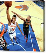 Atlanta Hawks V New York Knicks Canvas Print