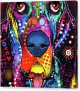 Basset Canvas Print