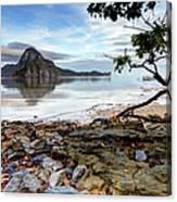 Beautiful El Nido Landscape Canvas Print