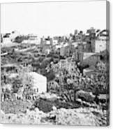 Bethlehem 19th Century Canvas Print