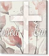 Blessed Easter Canvas Print